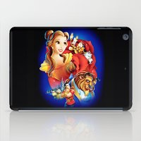 beauty and the beast iPad Cases featuring Beauty And The Beast by neutrone
