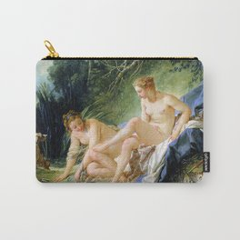 Diana getting out of her bath - Francois Boucher Carry-All Pouch