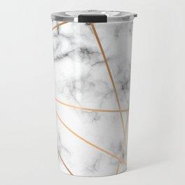 Marble Geometry 051 Travel Mug