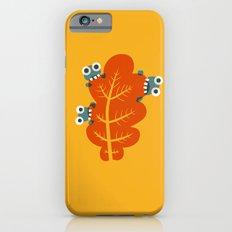 Cute Bugs Eat Autumn Leaf Slim Case iPhone 6s