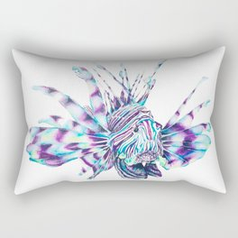 Trippy Fishy Rectangular Pillow