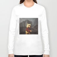 bastille Long Sleeve T-shirts featuring Winnie & Bastille by consequence