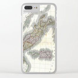 Italy map - John Cary - 1799 Clear iPhone Case