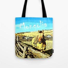 Mongolia Horse Treks (at Mountain Rubia) Tote Bag