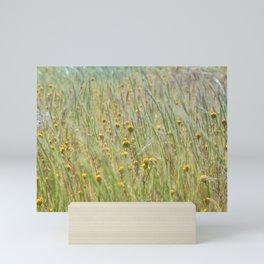 Wildflowers Field Mini Art Print