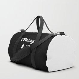 Classy AF Funny Quote Duffle Bag