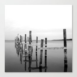 Reflection // Traverse City, Lake Michigan. Canvas Print