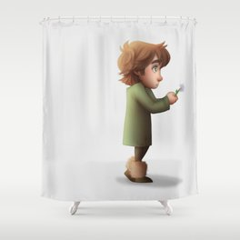 Flower for you part 1 Shower Curtain