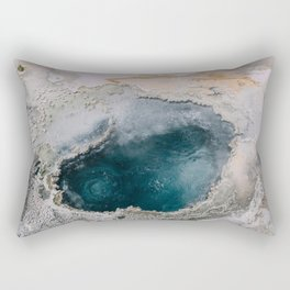 Geothermal in Yellowstone Rectangular Pillow