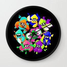 Splatoon - Inkling Squad Wall Clock