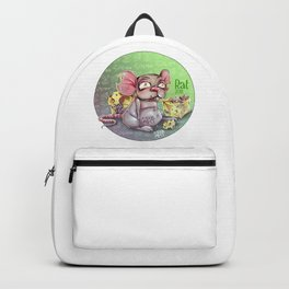 Chines rat horoscope Backpack