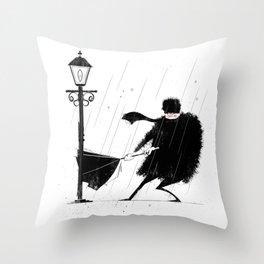 Strong Winds Throw Pillow