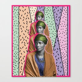 Afro1 Canvas Print