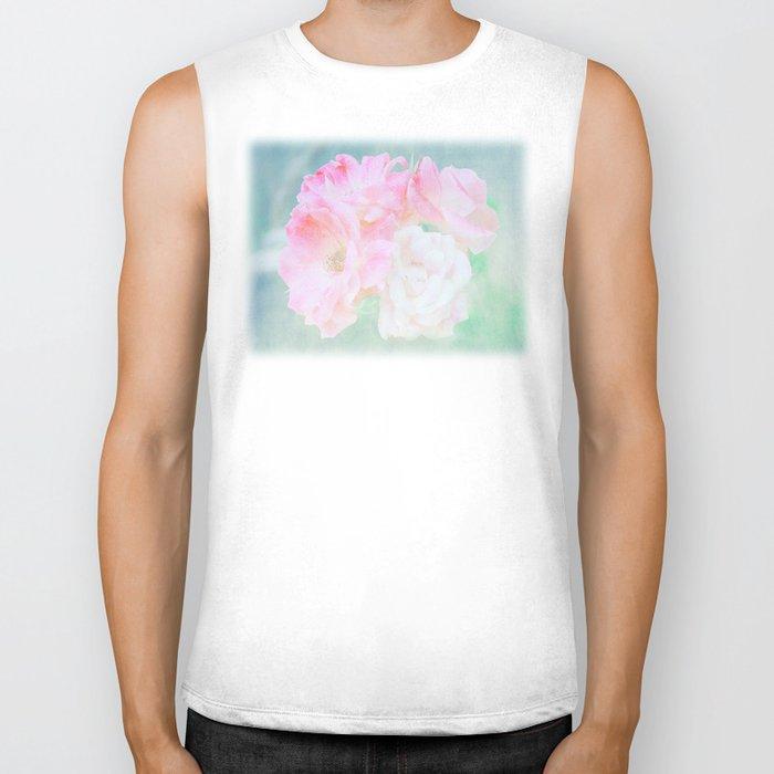de belles fleurs Biker Tank