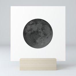 BLACK MOON Mini Art Print