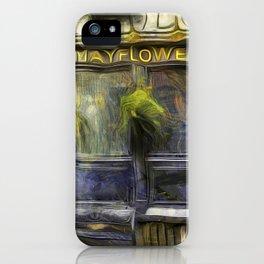 The Mayflower Pub London Van Gogh iPhone Case