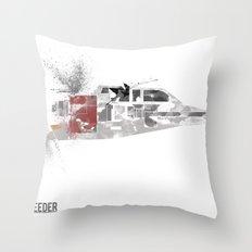 Star Wars Vehicle Snow Speeder Throw Pillow