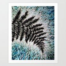 Fern Study 13 Art Print
