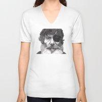 jack daniels V-neck T-shirts featuring Jack by Rik Reimert