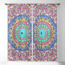 Magic Life Garden Mandala Sheer Curtain