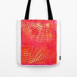 Fizzy pink fan Tote Bag