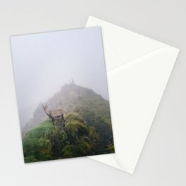 Ibex on the path Stationery Cards