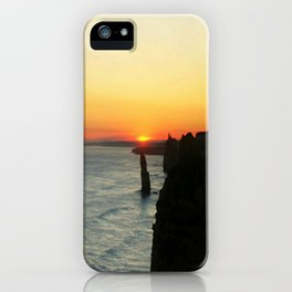 Sunset over the Great Southern Ocean iPhone Case