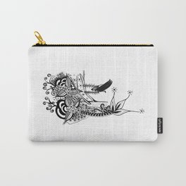 The Swing Ink drawing by Saribelle Carry-All Pouch