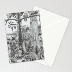Woodland Friends Stationery Cards