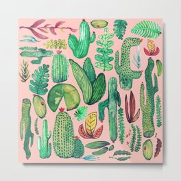 Nature Mix Pink!! Metal Print