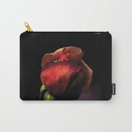 Rose encore fermée colors fashion Jacob's Paris Carry-All Pouch