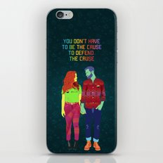 You don't have to be the cause iPhone & iPod Skin
