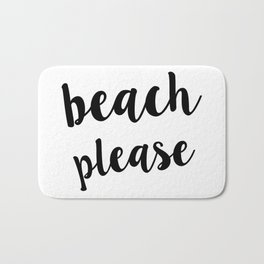 Beach Please Bath Mat
