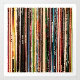 Alternative Rock Vinyl Records Art Print