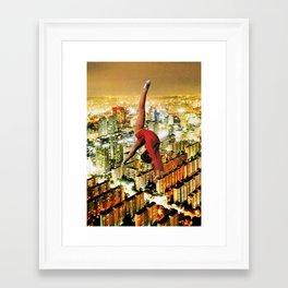 ballarina Framed Art Print