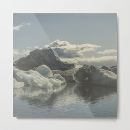 Icebergs V Metal Print