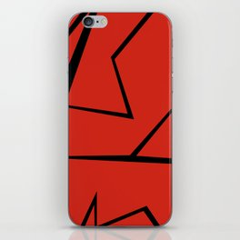 Anger!!! iPhone Skin