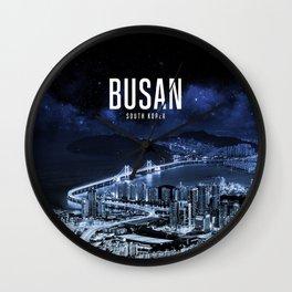 Busan Metropolitan City Wallpaper Wall Clock
