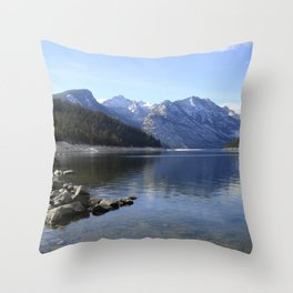 Como Lake Throw Pillow