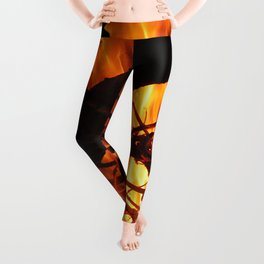 Blazing Heat Leggings