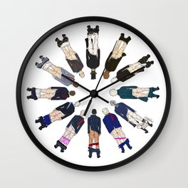 President Butts Wall Clock