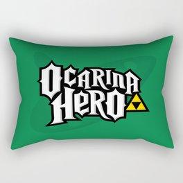 Ocarina Hero Rectangular Pillow