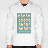 eggs Hoodies featuring eggs by Michela Buttignol