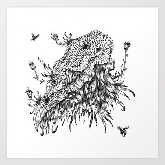 Cycle 3 Art Print