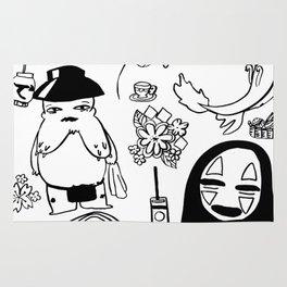 Spirit Away Characters Rug
