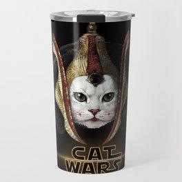 Cat Wars Amidala Travel Mug