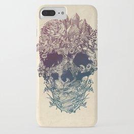 Skull Floral iPhone Case