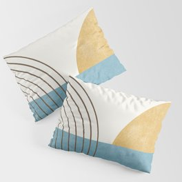 Sunny Ocean Horizon Pillow Sham