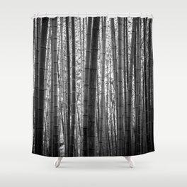 Bamboo Monochrome Shower Curtain