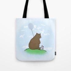 Cloudy the Bear Tote Bag